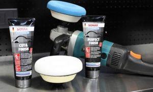 Полироль для салона автомобиля: полировка приборной панели и торпеды