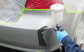 Ваз 2109: покраска своими руками, как покрасить бампер и пороги?