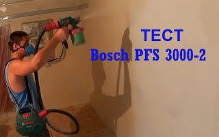 Краскопульт bosch pfs 5000 e: отзывы о бош 5000e