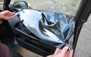 Тонировка авто: штраф за затемнение стекол автомобиля