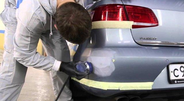 Локальная покраска авто своими руками