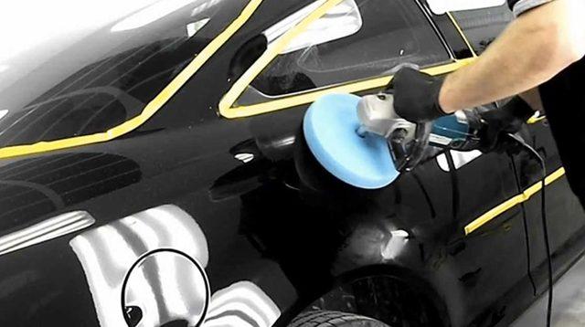 Полировка черного автомобиля: полироль для кузова черной машины