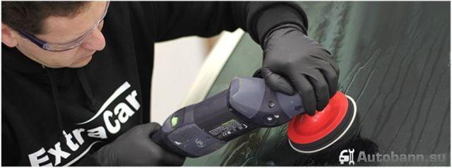 Как отполировать лобовое стекло автомобиля самому и убрать царапины?