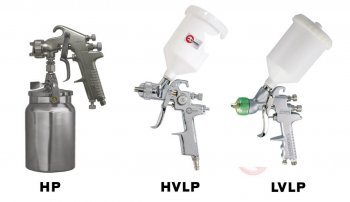 HVLP или LVLP: какой краскопульт лучше?