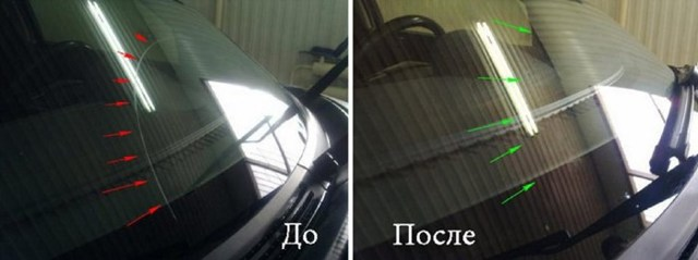Полировка стекла пастой ГОИ: обработка лобового окна своими руками