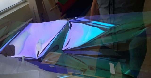 Атермальная пленка на лобовое стекло Хамелеон