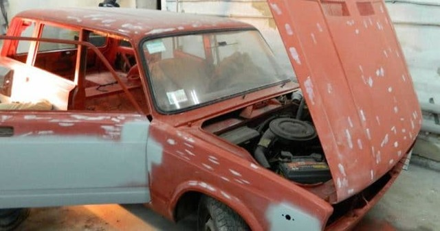 Ремонт кузова и покраска ВАЗ 2104