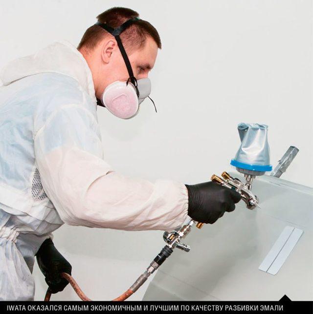 Iwata W400 и LPH: краскопульты для покраски авто