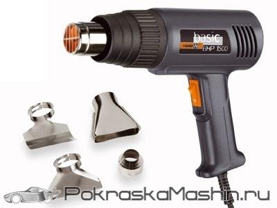 Оборудование для тонировки: набор инструментов и приспособлений