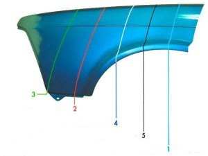 Как покрасить крыло с переходом: покраска детали на видео