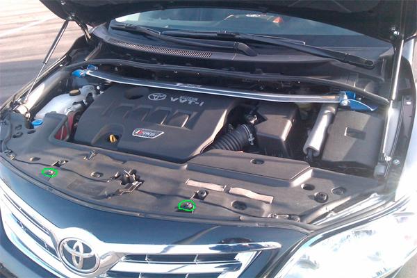 Ремонт переднего и заднего бампера Тойота Королла