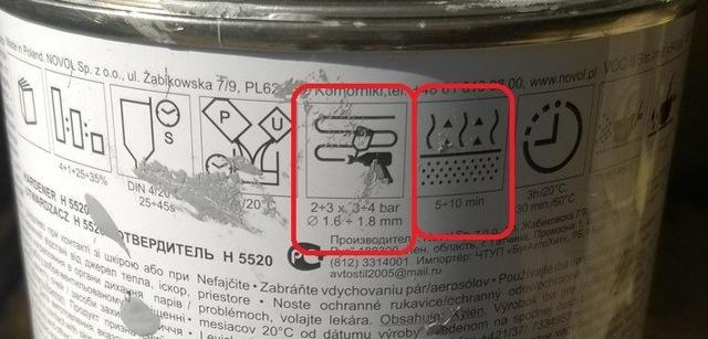 Акриловый грунт Novol
