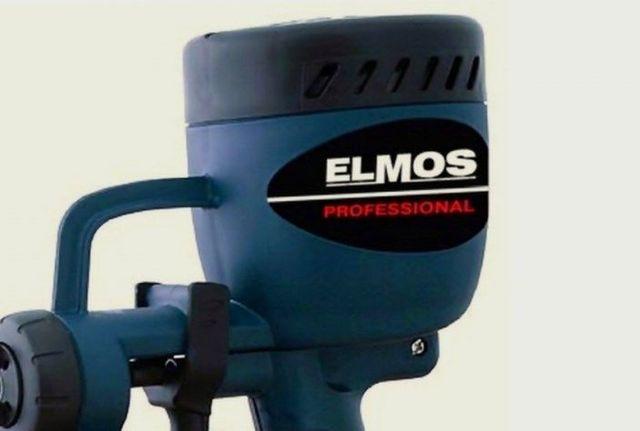 Elmos PG 80: безвоздушный краскопульт и его особенности