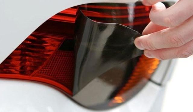 Тонировка стоп-сигналов: тонирование стопов пленкой и краской