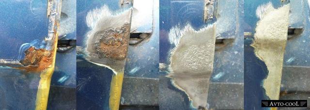 Как обработать ржавчину на кузове и чем выполняется защита от нее?