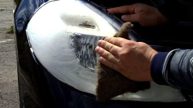 Как полировать фары: как отполировать пластиковые фары и стекло?
