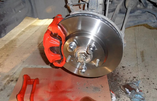 Краска для литых дисков авто и тормозных суппортов