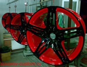 Коррозия на дисках: обработка литых, кованых и штампованных дисков