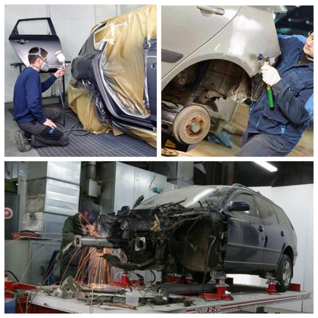 Кузовной ремонт Сузуки Гранд Витара
