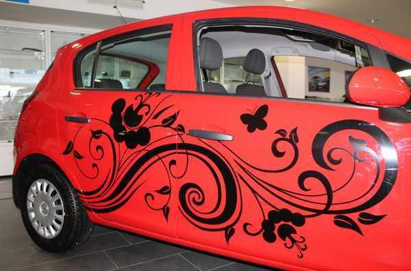 Пленка для авто коричневая: виды и нанесение