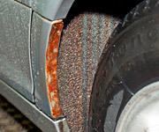 5 способов убрать ржавчину с кузова автомобиля