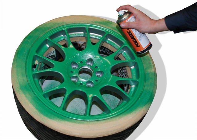 Покраска шин: чем можно покрасить резину автомобиля?