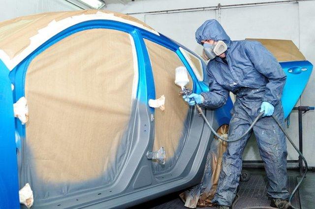 Покраска авто в гараже своими руками: работа в гаражных условиях