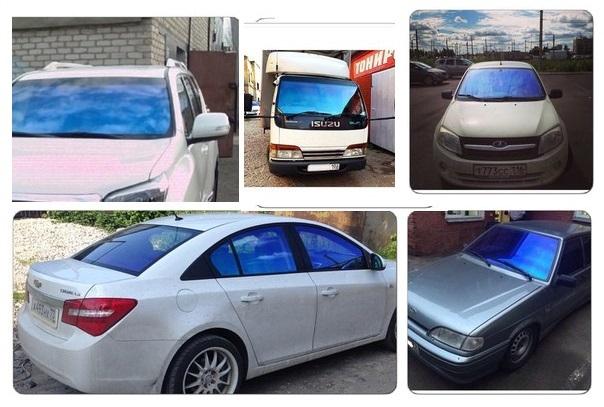 Тонировка зеркальной пленкой лобового и других стекол автомобиля