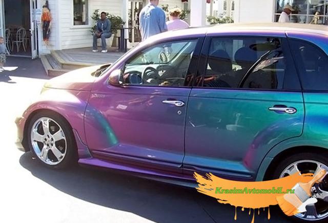 Краска перламутр для авто: как красить перламутром?
