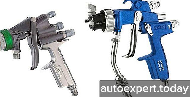 Пистолет для покраски авто электрический: как выбрать?