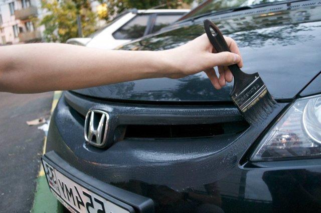 Жидкий пластик для авто: покрытие автомобиля своими руками