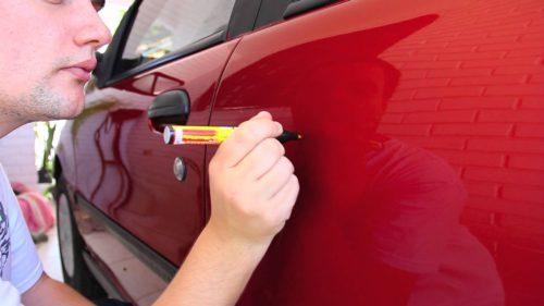 Краска карандаш для автомобиля: средство для подкраски авто