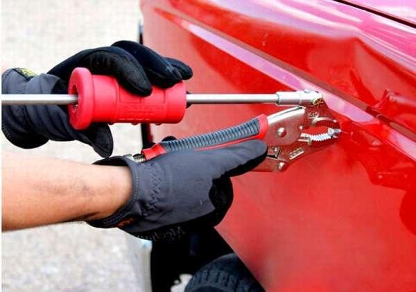 Молотки для кузовного ремонта: обратный молоток своими руками