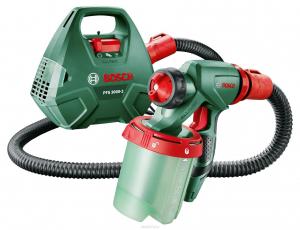 Краскопульт Bosch PFS 3000 2 электрический: характеристики Бош 3000-2