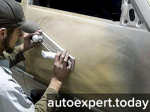 Как шпаклевать авто своими руками и правильно разводить шпаклевку?