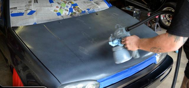 Автоэмаль аэрозоль: чем хороши краски в баллончиках?