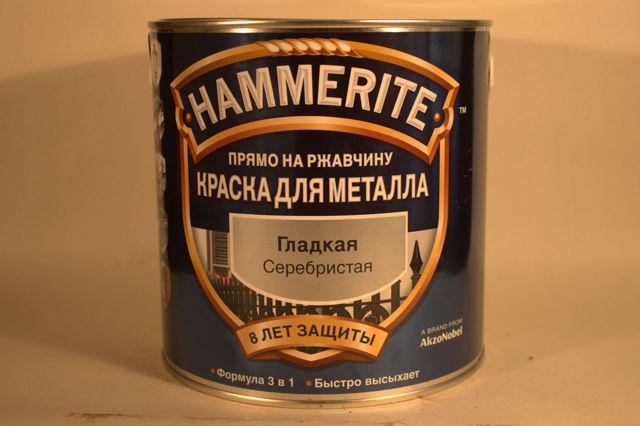 Хамерайт по ржавчине: уникальная молотковая краска по металлу