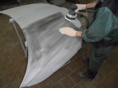 Покраска ВАЗ 2110 своими руками: подготовка крыши, капота и бампера