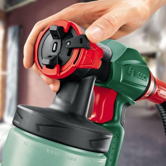 Краскопульт Bosch PFS 105 E: электрический краскораспылитель