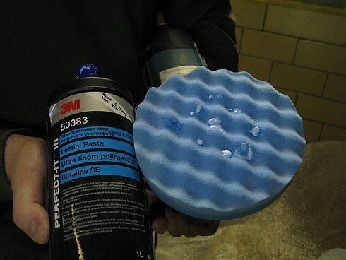 Технология полировки кузова автомобиля пастами 3м