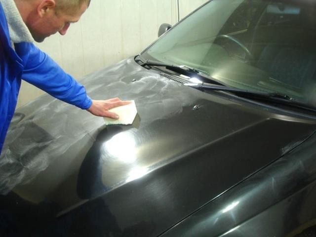 Полировка кузова автомобиля самостоятельно