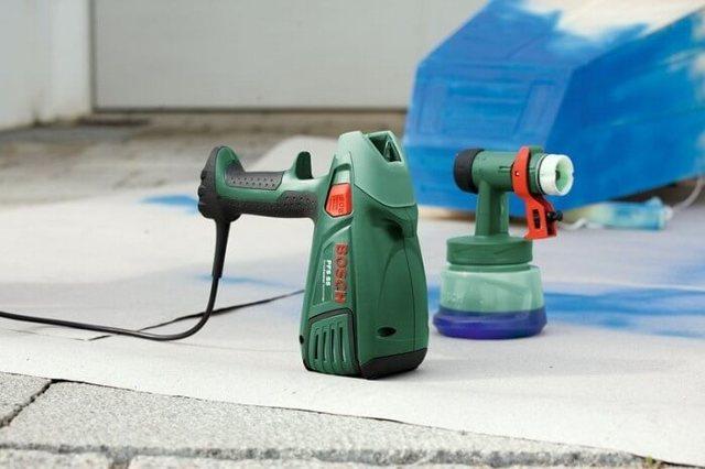Bosch PFS 65: отзывы о краскораспылителе, инструкция и характеристики
