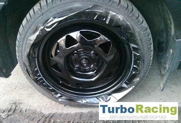 Как пескоструить диски колес, чтобы очистить их от ржавчины?