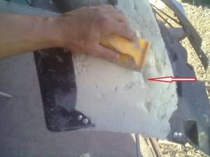 Ремонт бамперов из стекловолокна своими руками
