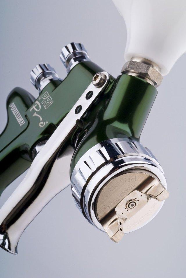 Краскораспылитель HVLP: покрасочный пистолет и технология системы HVLP