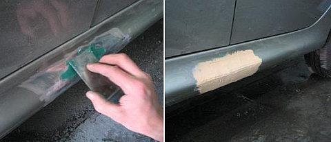 Как отрихтовать крыло авто в домашних условиях своими руками