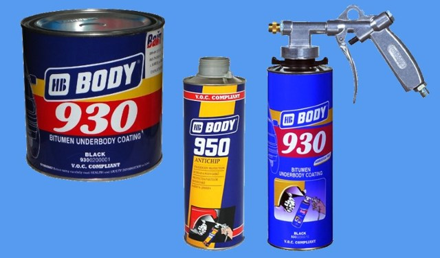 Антикор Body 930: правила нанесения мастики