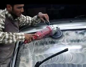 Чем полировать лобовое стекло автомобиля: средства и видео