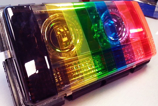 Тонировка передних фар: два способа изменить оптику