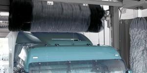 Оборудование для мойки грузовых автомобилей и мойка колес